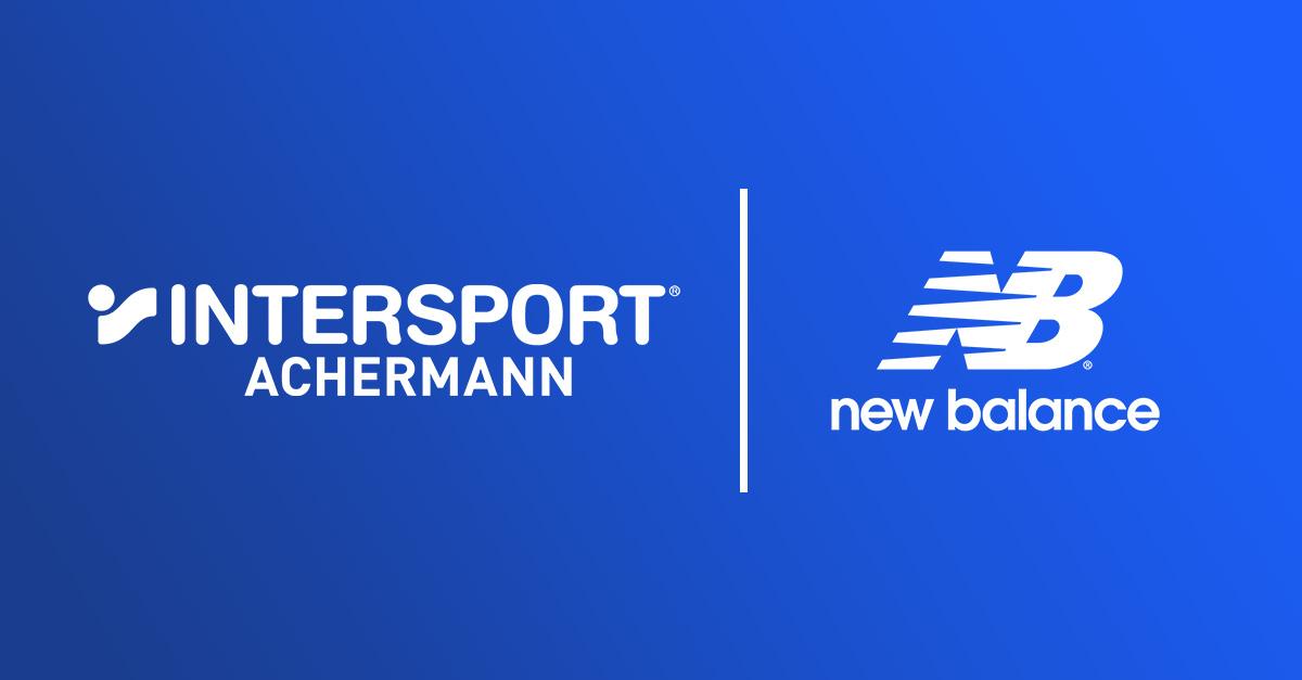 Achermann Sport und New Balance neue Ausrüster